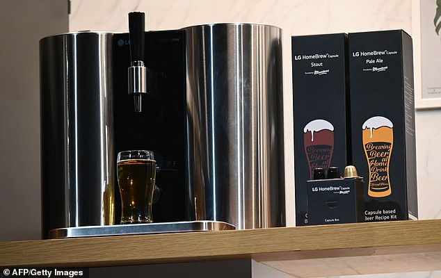 LG launches Keurig-style pods that make 5 different kinds of beer photo