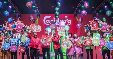 Celebrate Prosperity, Happiness, Wealth And Good Luck With Carlsberg This Cny photo