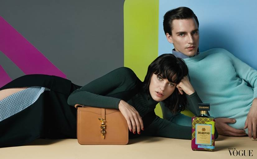 image003 TRUSSARDI Dresses DISARONNO with Limited Edition Bottle