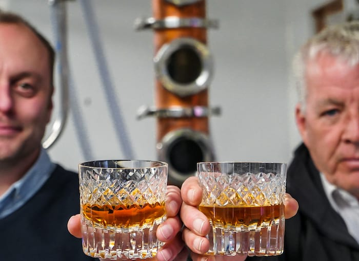 England's Isle Of Wight Sees Its First Ever Legal Whisky Produced photo