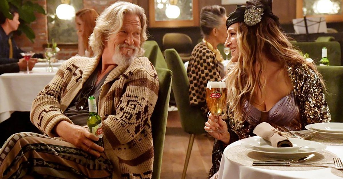 Carrie Bradshaw And The Dude Come Together For Stella Artois Super Bowl Ad photo