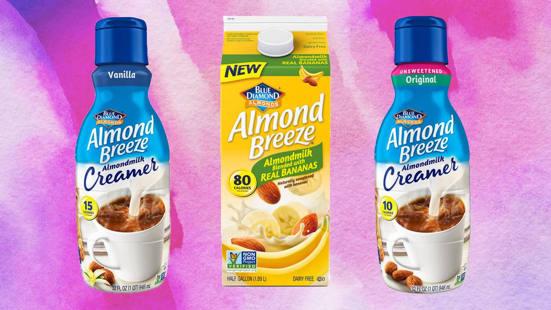Blue Diamond Launches Vegan Almond Breeze Milk Creamer And Dairy-free Banana Milk photo