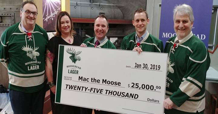 Moosehead Breweries Donates $25,000 To Mac The Moose Fund photo