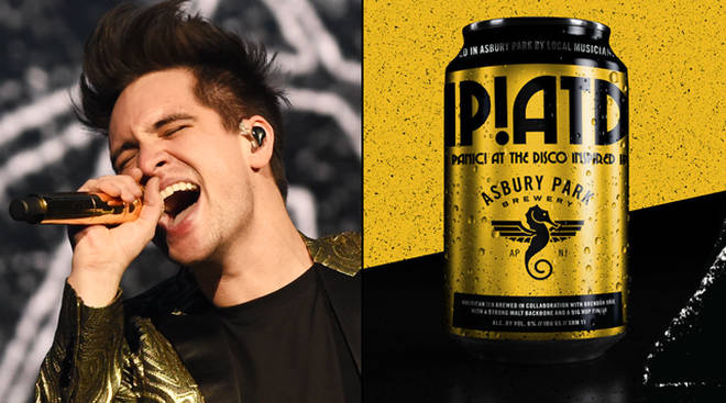 Rock band Panic! At the Disco just launched their own beer photo