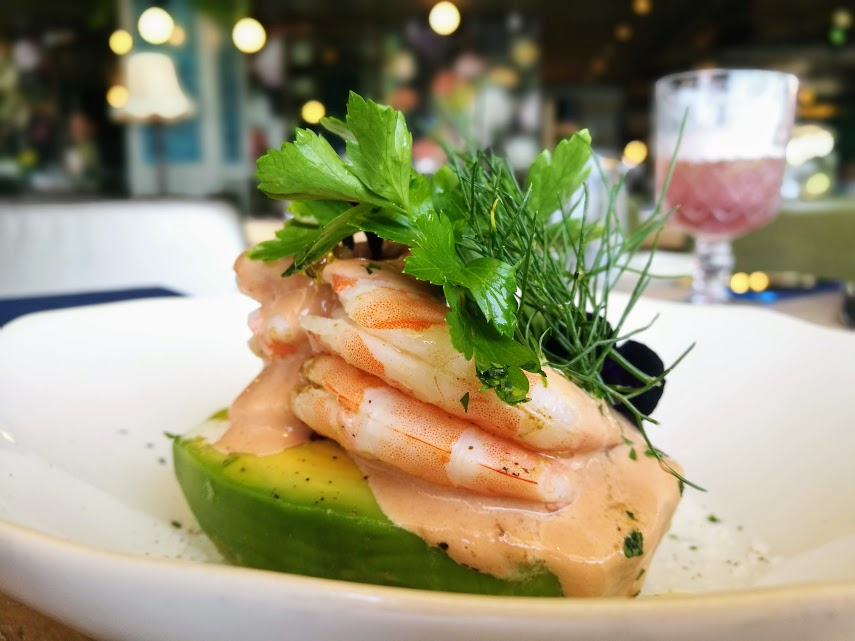 prawn avo bobos Bobos Brasserie: The hottest new sunset spot in Cape Town