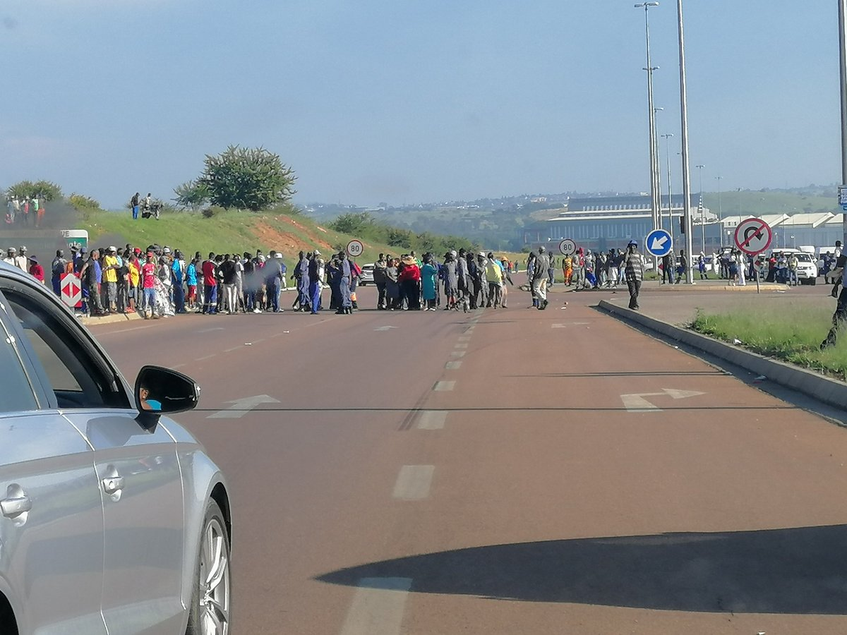 Newsflash: Centurion Protest Causes Morning Traffic Chaos photo