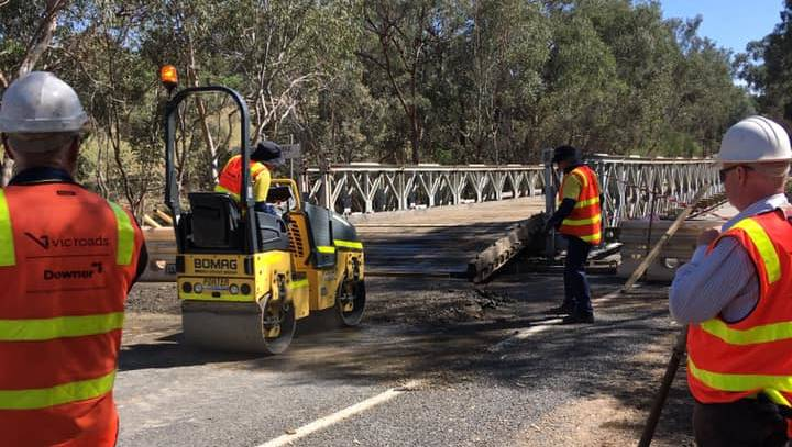 Frustration As Replacement Bridge Over Hodgsoncreek Yet To Open photo