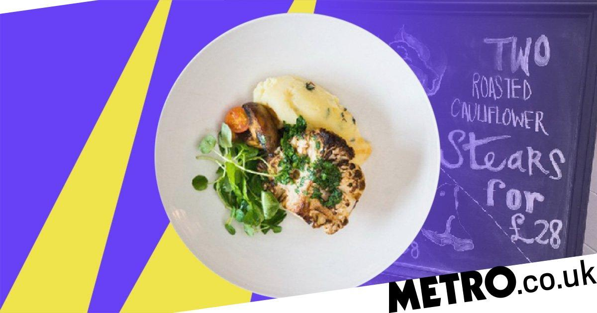 People Are Furious That This Pub Was Charging £14 For A Vegan Cauliflower Steak photo