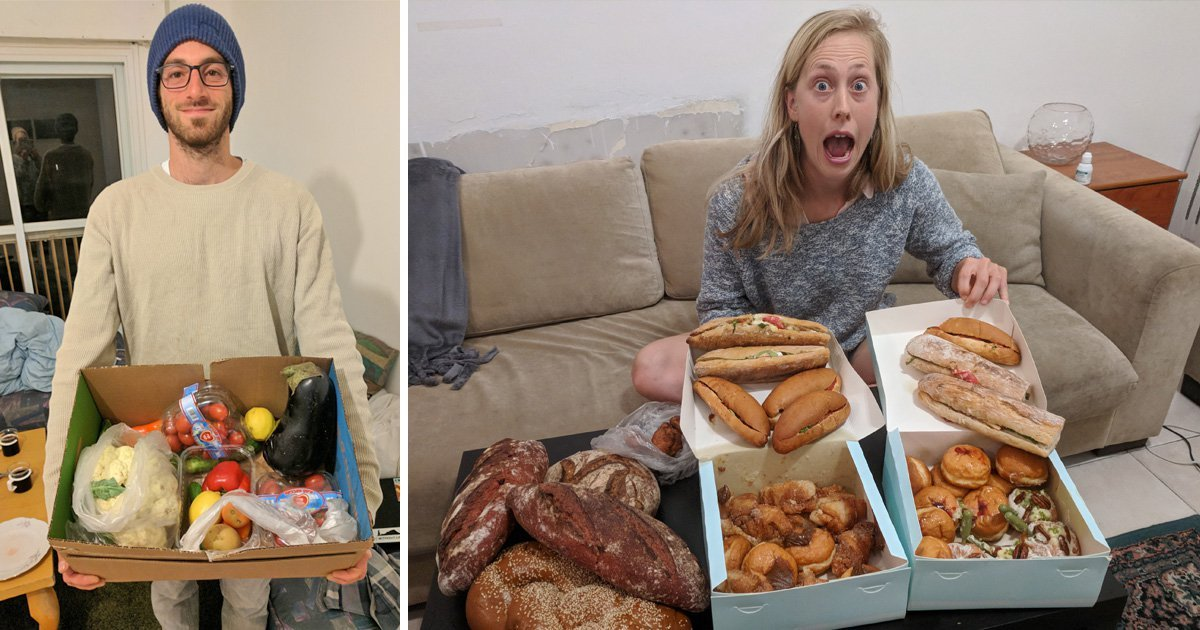 Couple Save £160 A Month To Travel By Eating Food From Bins photo