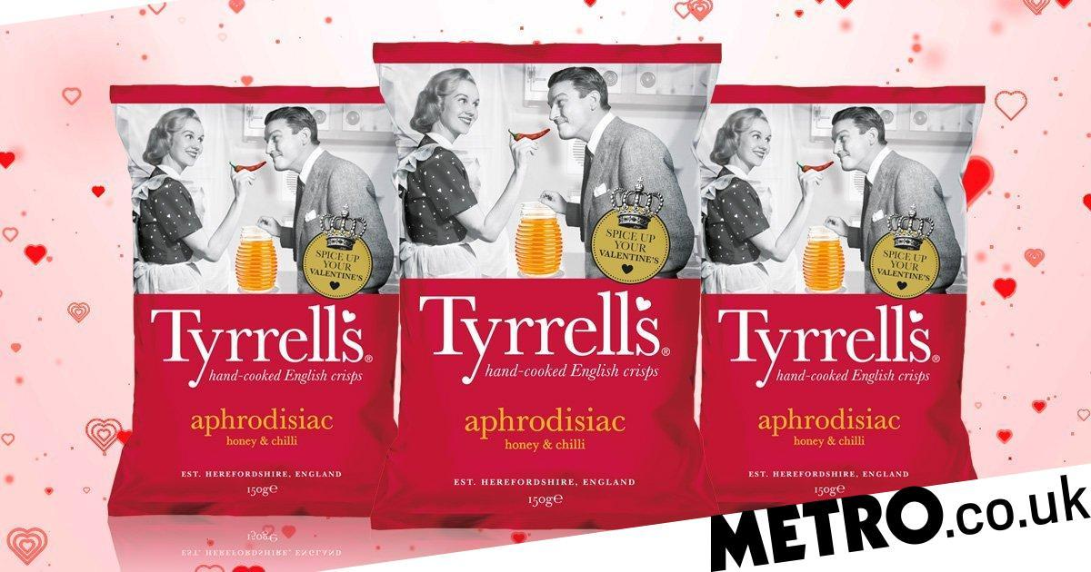 Tyrrells Launches Aphrodisiac Crisps To Get You In The Mood For Valentine's photo