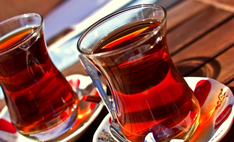 A Turk consumes an average of 1,300 cups of tea every year photo