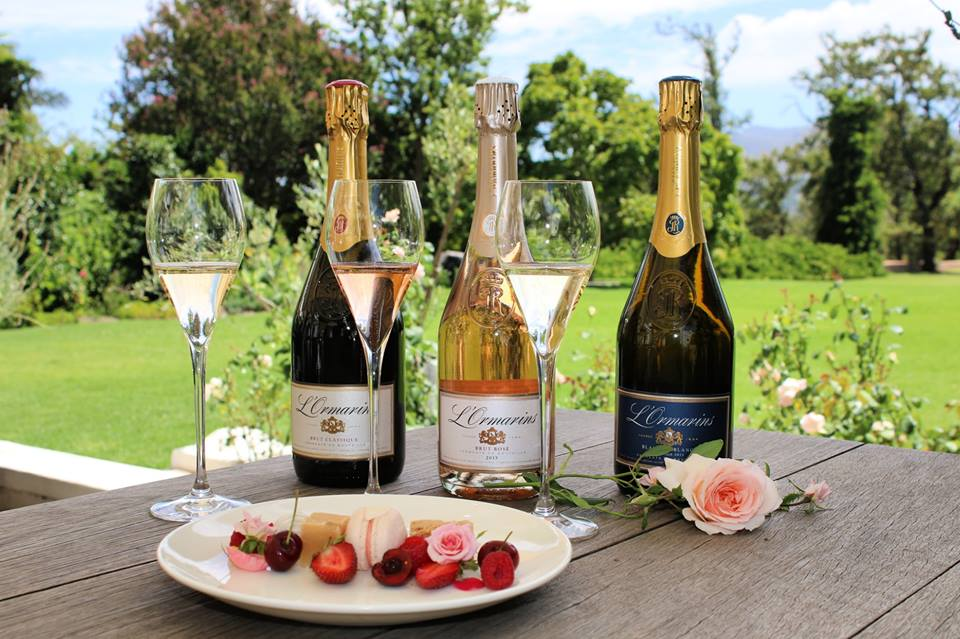 Sweet treats and Rosés at Anthonij Rupert Wyne during the month of love photo
