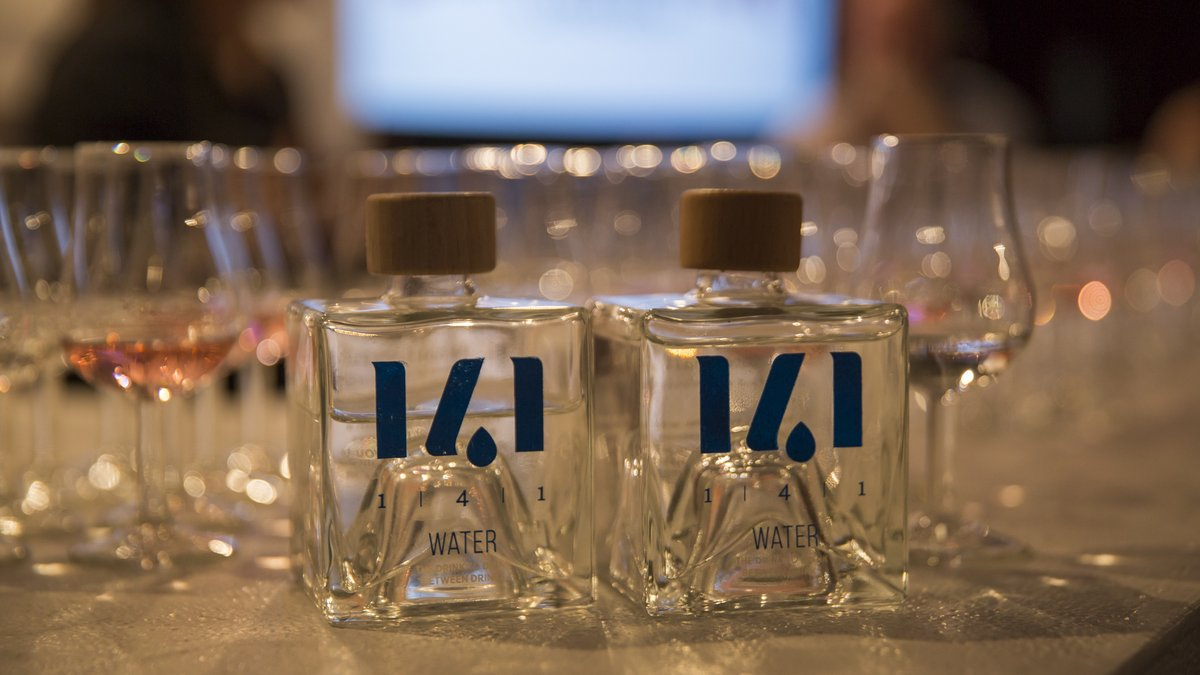 Pernod Ricard's 1-4-1 campaign encourages people to consuming one bottle of water for every alcoholic drink photo