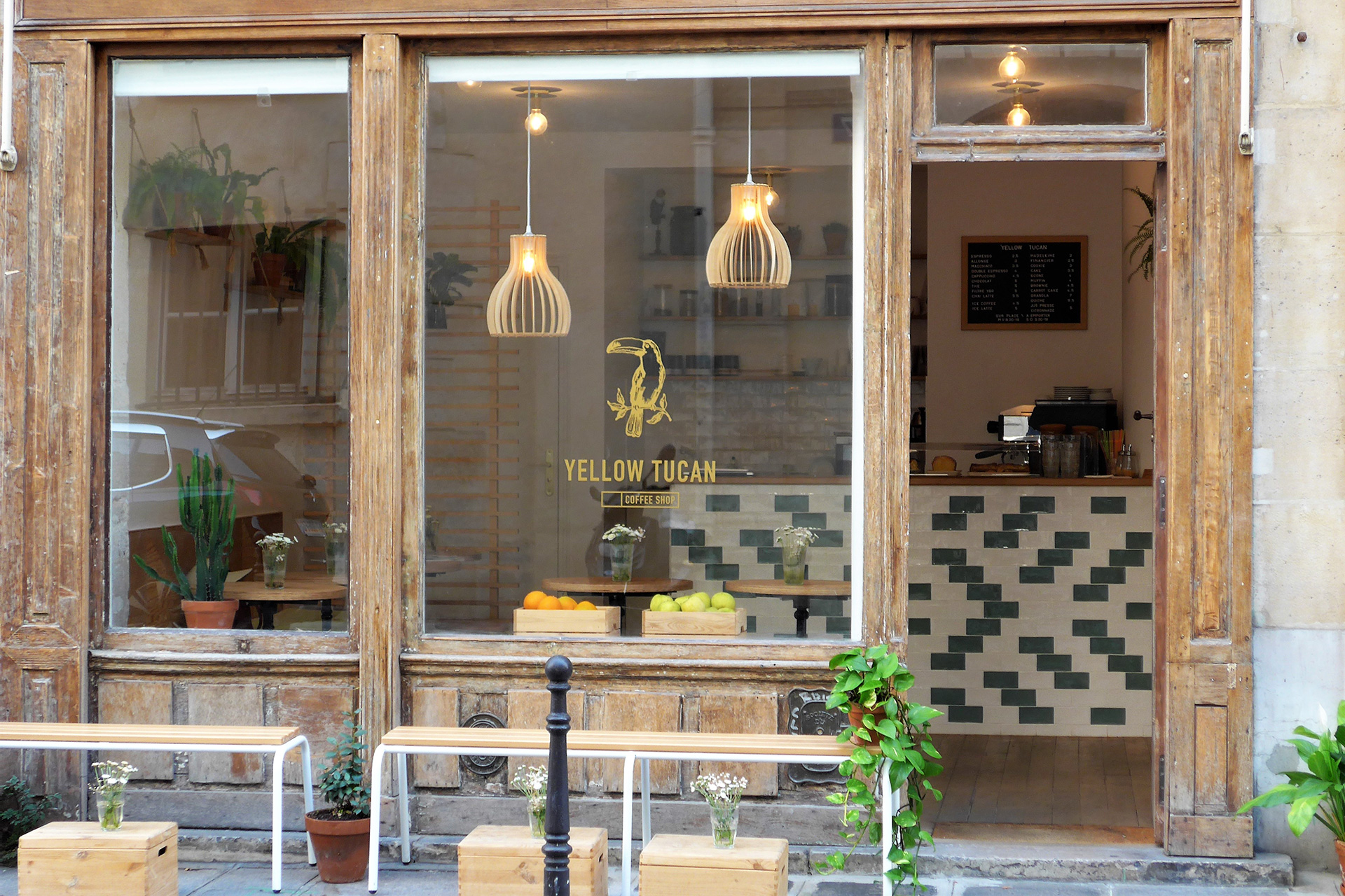 For Coffee In Paris, Follow Your Nose To Yellow Tucan photo