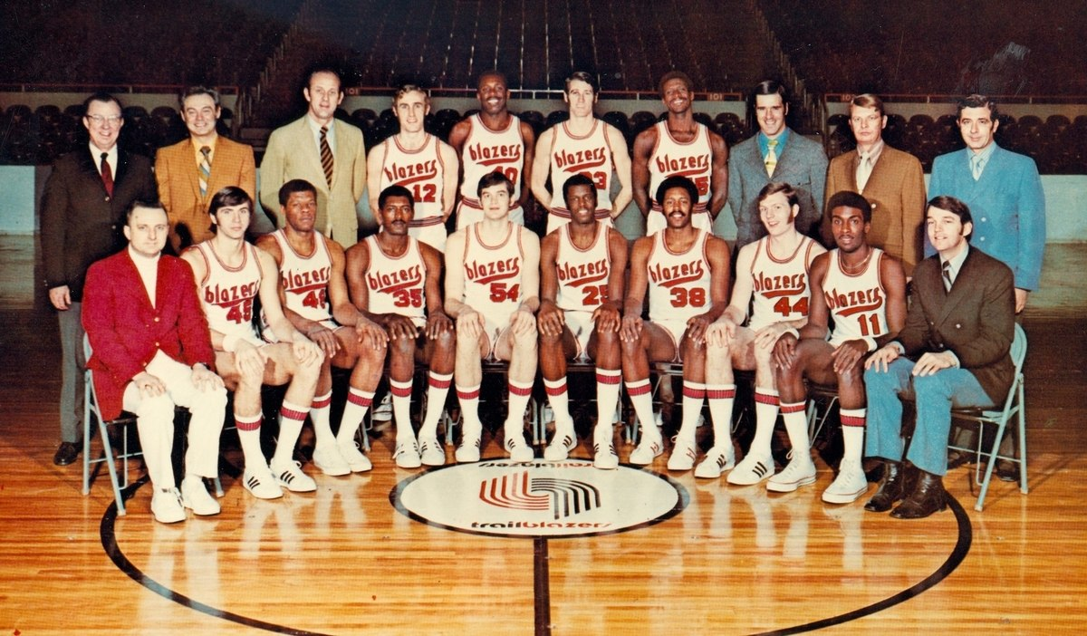 The Blazers Will Play A Game At Veterans Memorial Coliseum Next Season In Honor Of The Team?s 50th Anniversary photo