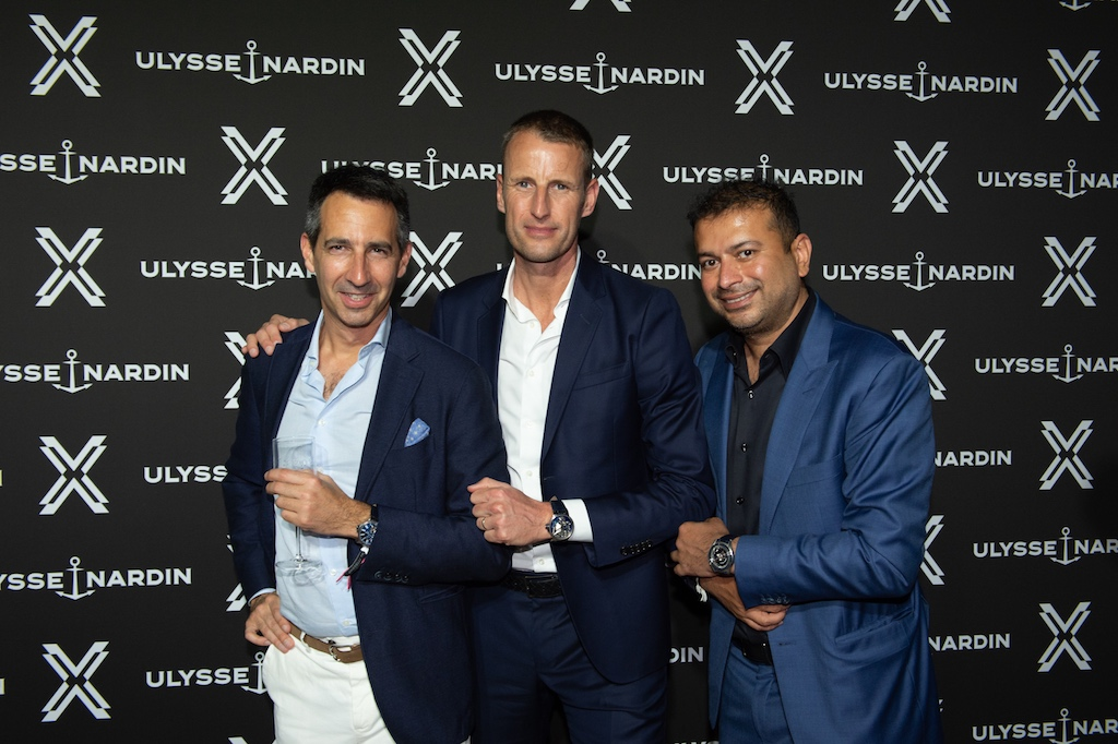 Ulysse Nardin Launches Freak X Watch Collection With Haute Living At Island Gardens With Intimate Vip Dinner & Blowout Bash photo