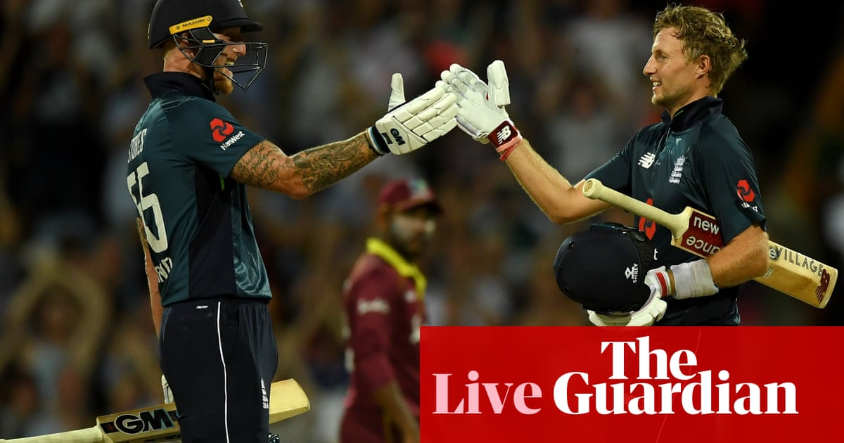 England Chase Down 361 V West Indies After Gayle Blitz: First Odi – As It Happened photo