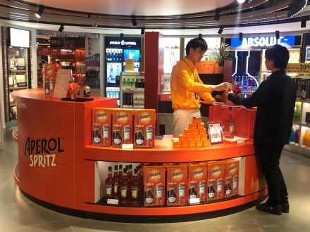 Aperol Spritz Reaches 40,000 Travellers A Day With Hkia Pop-up photo