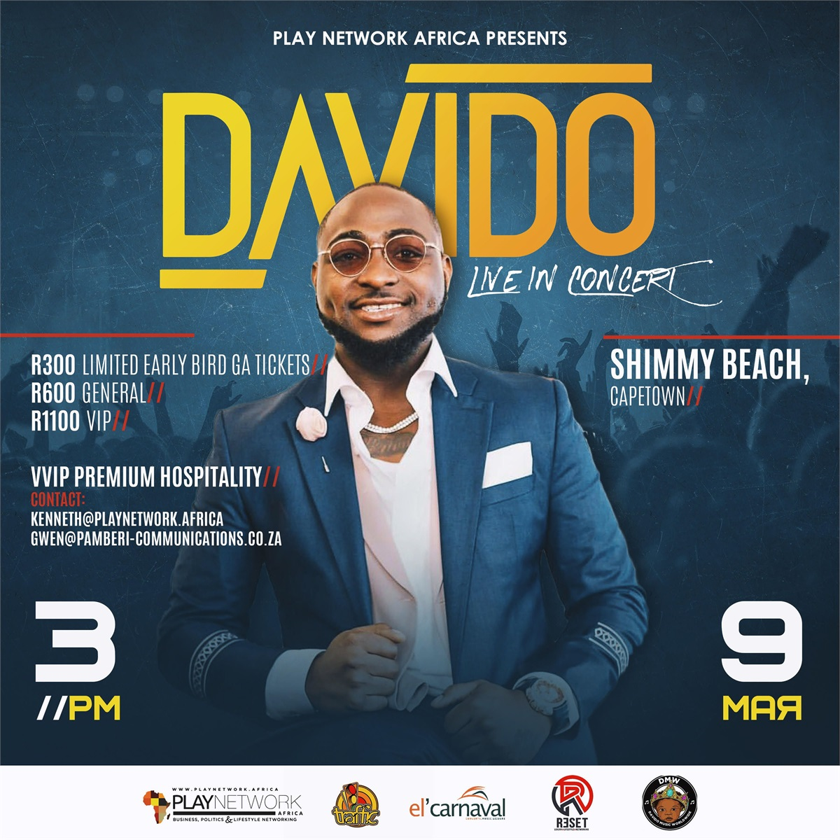 Davido To Perform At Shimmy Beach Club photo