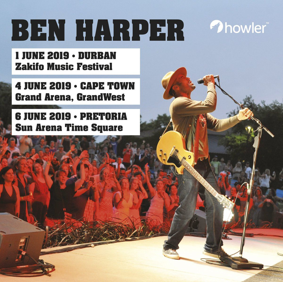 Ben Harper To Tour South Africa In June photo