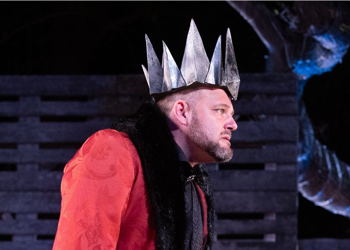 Alan Committie As Richard Iii Turns In A Tour De Force At Maynardville photo
