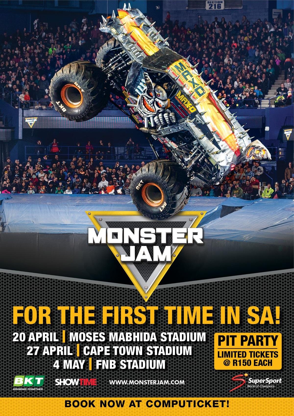 Monster Jam To Make Sa Debut With 8 Larger-than-life Trucks photo