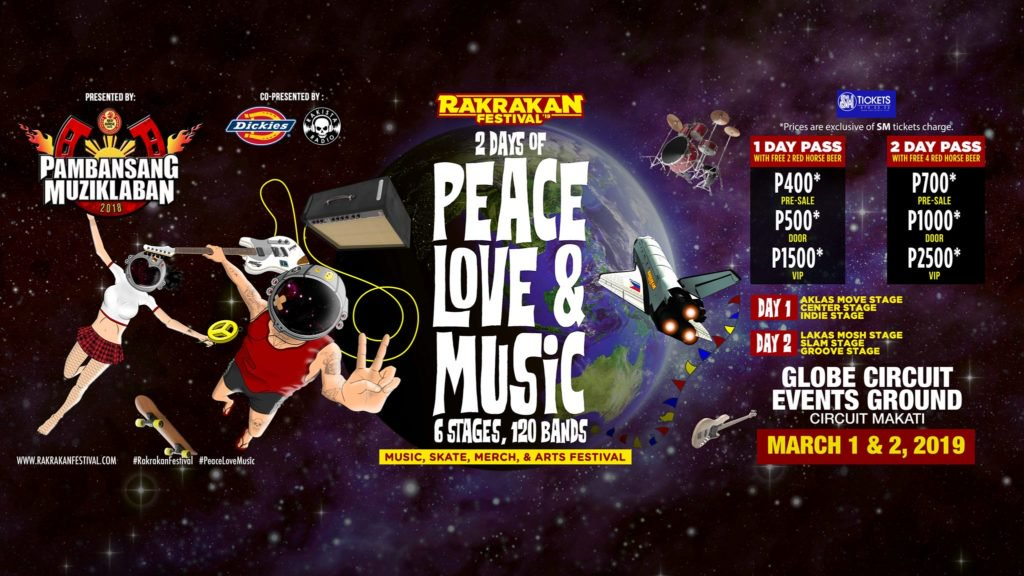 The Country?s Biggest, Loudest, And Most Exciting All-opm Festival Is Back! Rakrakan Festival 2019: Peace, Love, And Music photo
