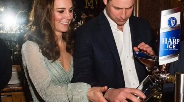 Watch: Impressive! Duchess Kate Sure Knows How To Pull A Pint photo