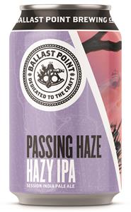 Ballast Point® Introduces Juicy, Sessionable Passing Haze Ipa photo