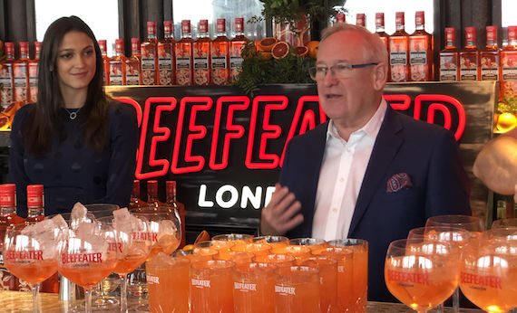 Beefeater Blood Orange Launches In Uk photo