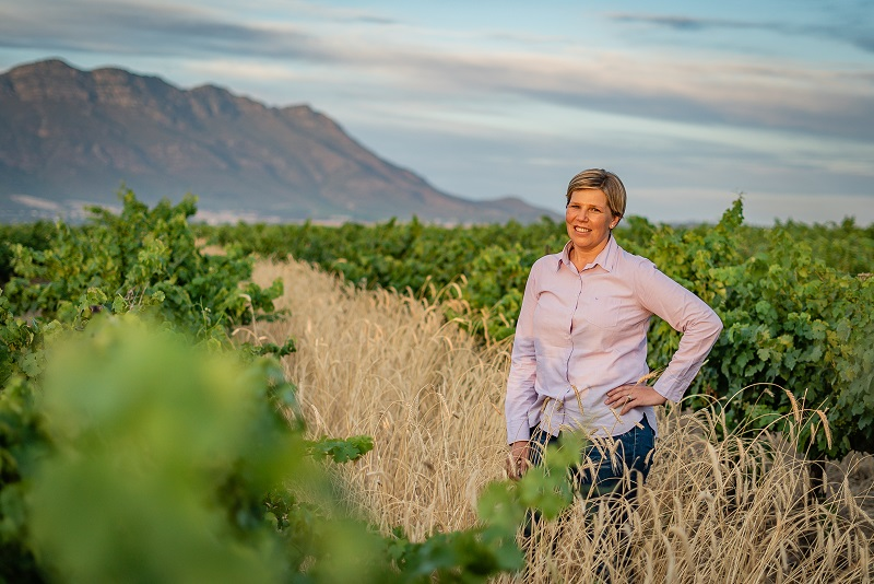 Alecia Boshoff head of wine production for Riebeek Valley Wine Co lr Riebeek Cellars rebrands to Riebeek Valley Wine Co.