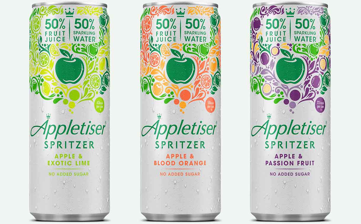 Coca-cola European Partners Unveils Appletiser Spritzer Line photo