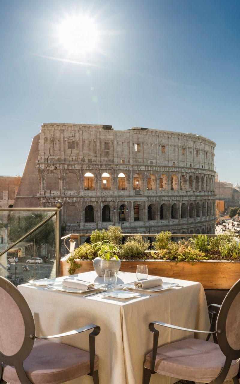 Ringside Seats And Curious Interiors: Inside Palazzo Manfredi Colossal New Colosseum-view Suites photo