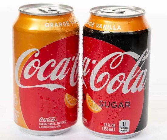 Coca-cola To Launch Orange Vanilla Coke Flavour In The Us photo