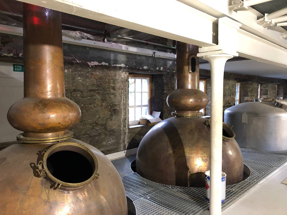 Edinburgh Whisky Distillery Proudly Shows Off Its Newly Installed Copper Stills photo