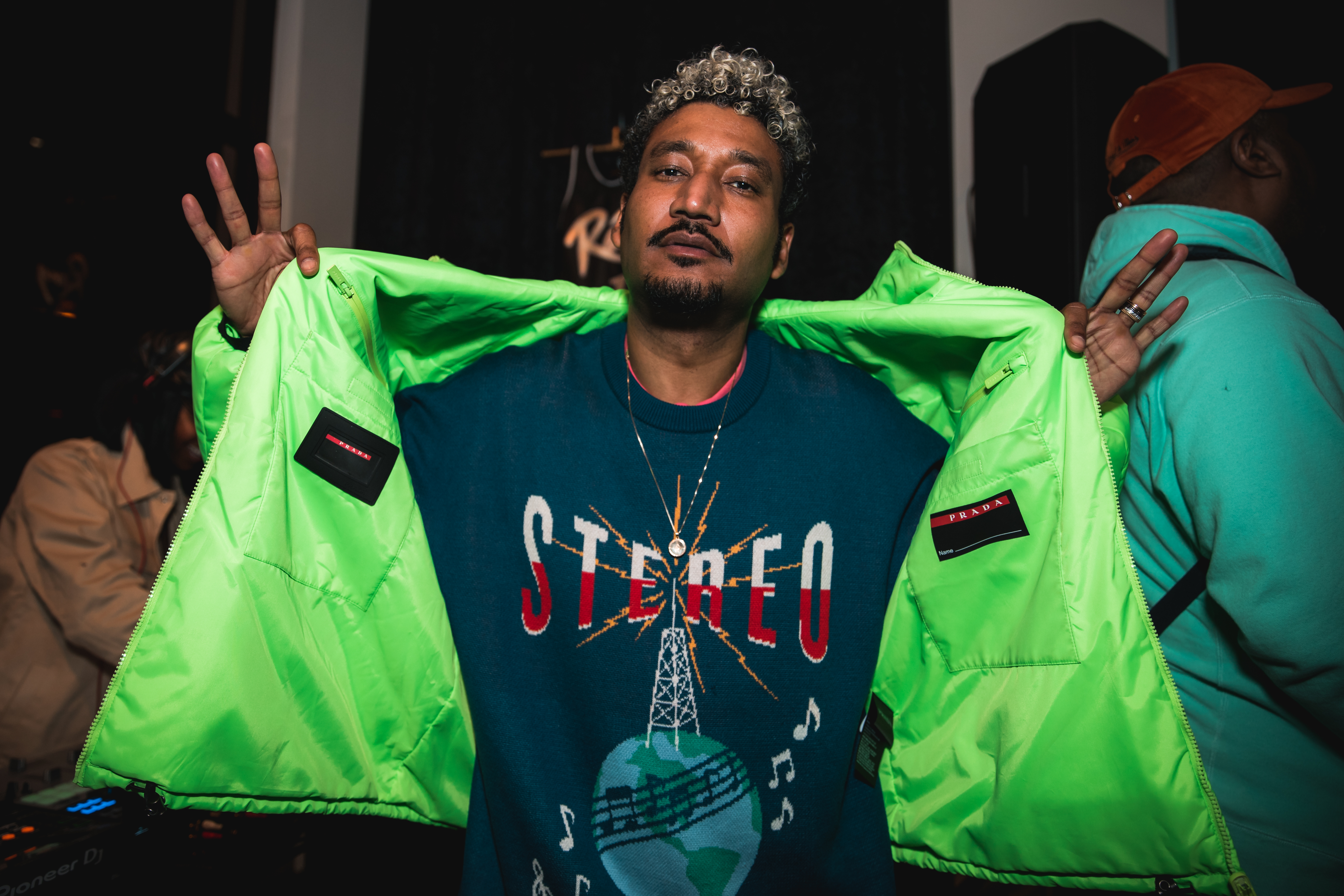 Don C. Completes Remy Martin Capsule With Duffel Bag At Nba All-star Weekend photo