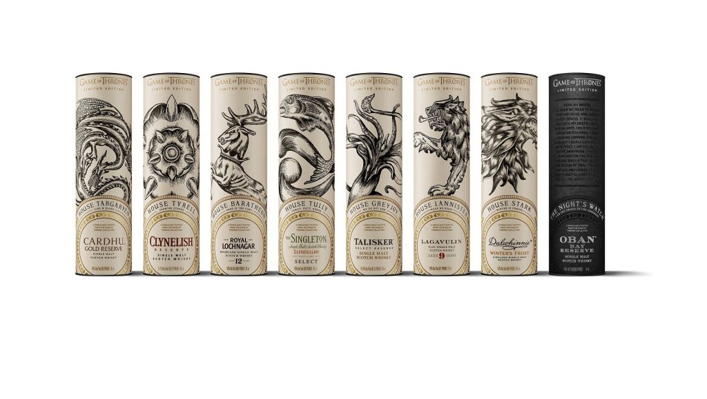 The Official Game Of Thrones Single Malt Whiskies Arrive In Singapore photo