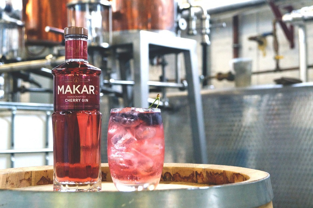 Glasgow?s Makar Cherry Gin Crowned World?s Best Flavoured Gin photo