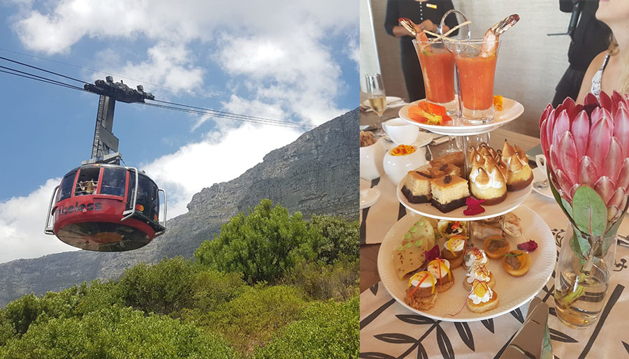 A Very, Very High Tea On The Summit Of Table Mountain photo