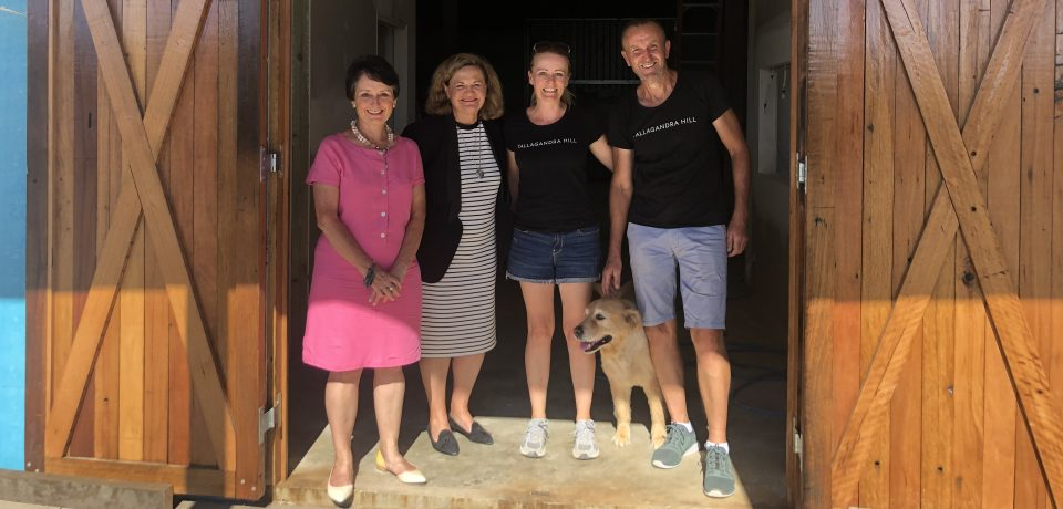 Grant Helps Tallagandra Hill Winery To Offer Overnight Stays photo