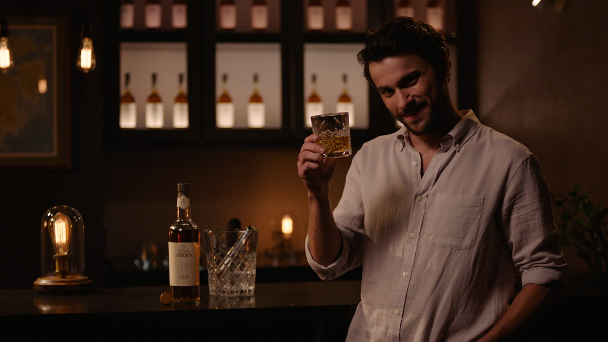 Htgawm Star Jack Falahee Discusses New Oban Scotch Campaign photo