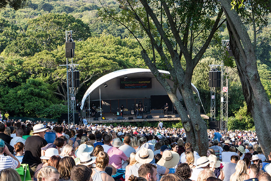 Kirstenbosch Summer Sunset Concerts Line-up February To March 2019 photo