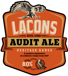 Lacons' Audit Ale Is Champion Winter Beer Of Britain ? Beer Today photo