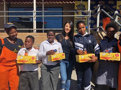 Lalla Hirayama Steps Up For Needy Schoolchildren photo