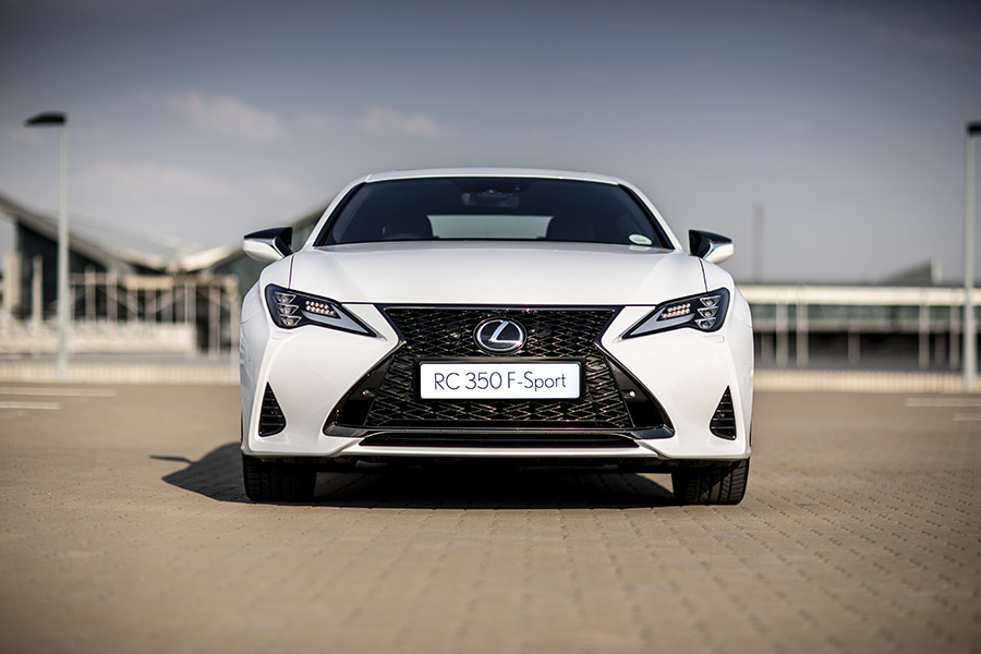 Sharper And More Refined: Lexus Rc F Sport photo