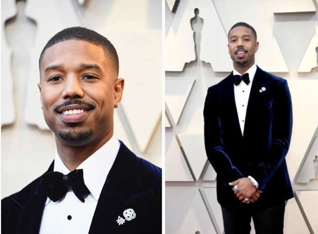 Michael B. Jordan Shines In Piaget At The 91st Annual Academy Awards photo