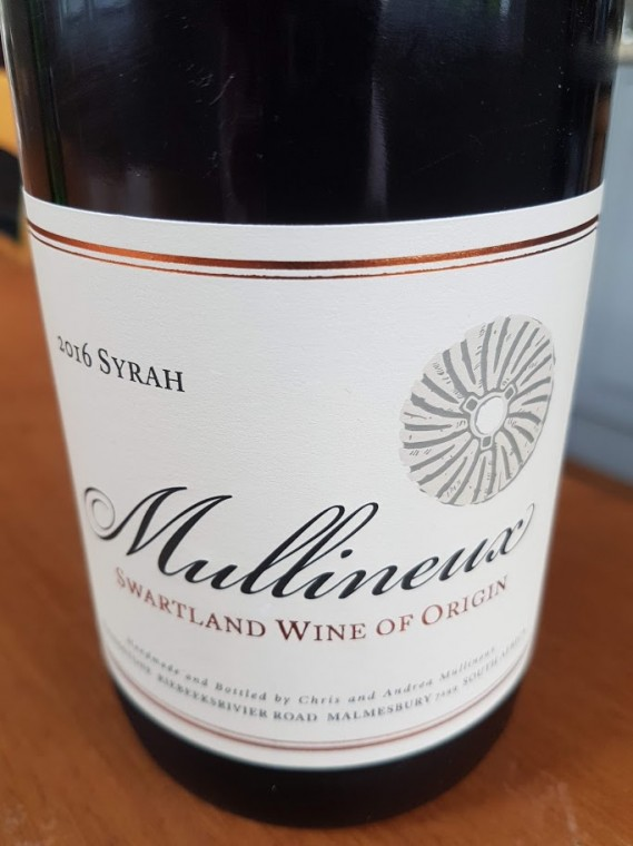 Mullineux Syrah 2016 photo