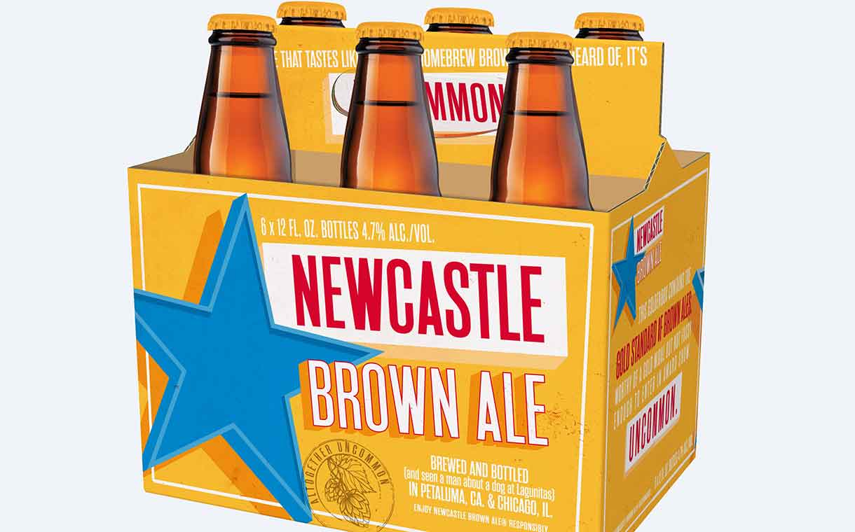 Newcastle Brown Ale Relaunched In The Us By Lagunitas Brewing photo