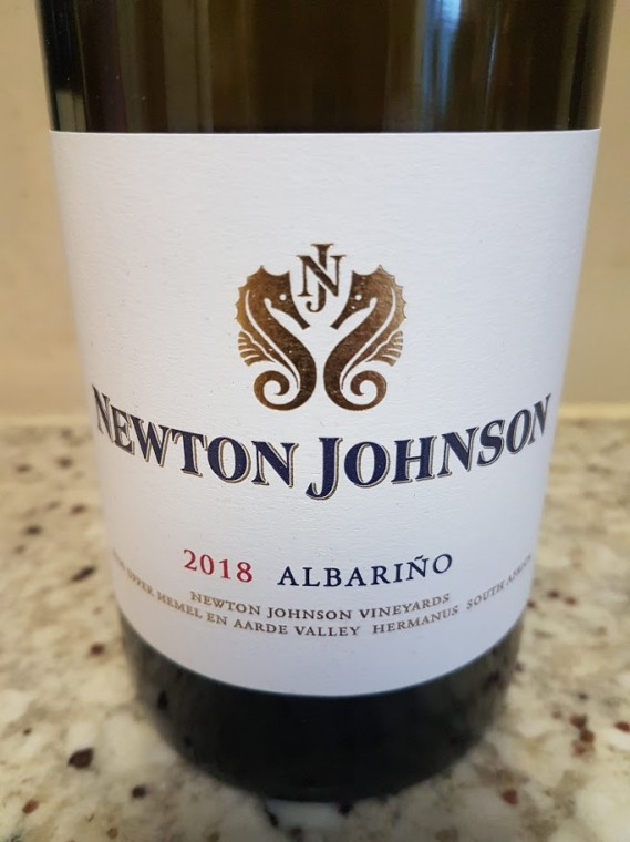 Newton Johnson Albariño 2018 photo