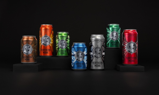 Robot Food Refreshes Can Design For Northern Monk Craft Brewery photo